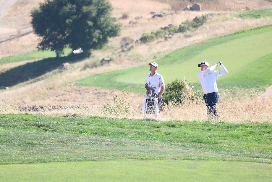 Martin Piller earned his sixth career Web.com Tour victory Sunday in Hayward. Photo: PGA Tour