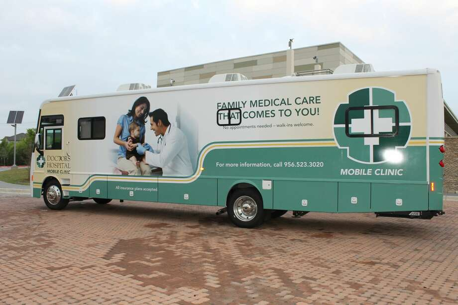 Doctors Hospital Mobile Clinic brings preventive medical care to those who may have limited access to healthcare. Services available on the mobile clinic include pediatric, adult and geriatric care; preventive medicine and wellness visits; blood pressure and blood sugar checks; and BMI testing. Photo: Courtesy