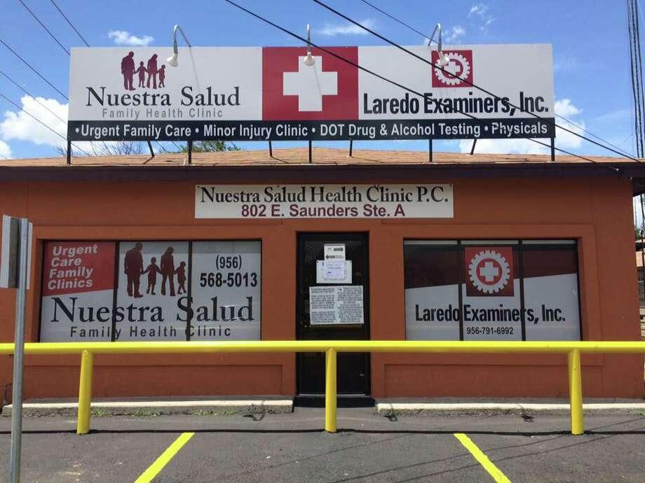 Laredo Examiners and Nuestra Salud Clinic Photo: Courtesy