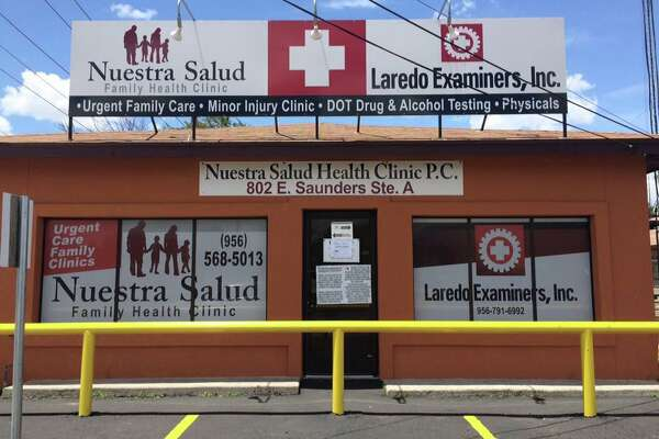 Laredo Examiners and Nuestra Salud Clinic