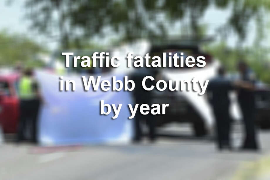Click through this gallery to see which years had the most fatal traffic incidents in Laredo and the rest of Webb County. Photo: Danny Zaragoza/Laredo Morning Times