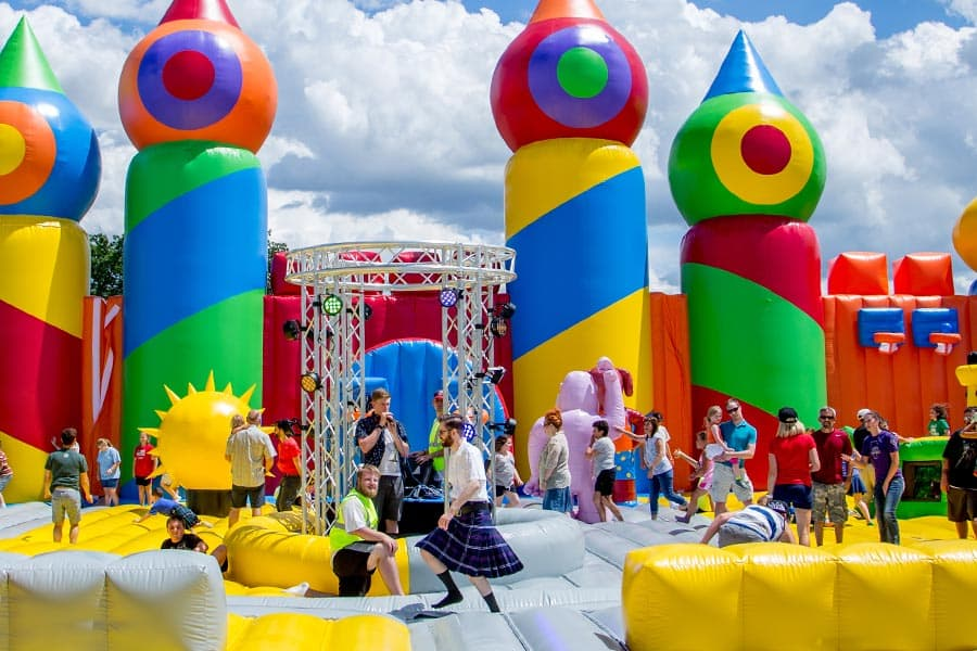 worlds largest bounce house coming to san antonio san antonio express news