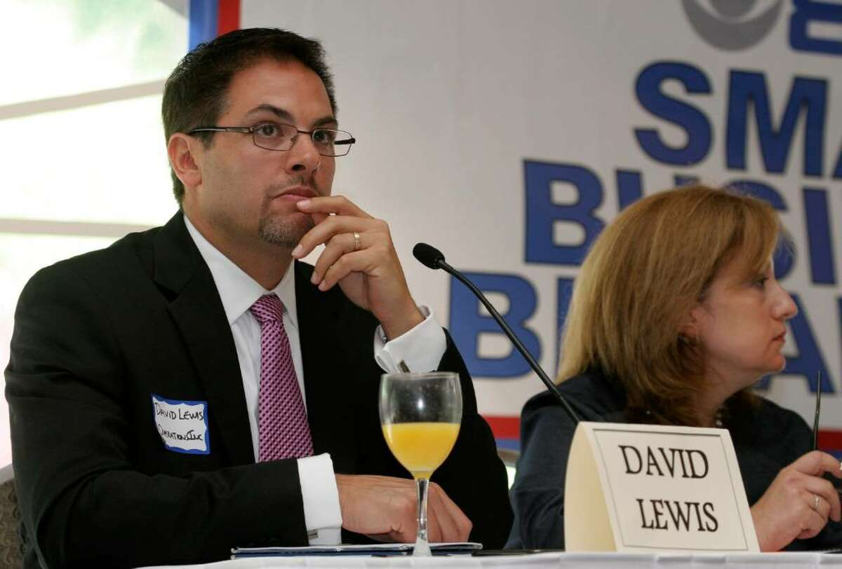 Stamford businessman David Lewis, President and Founder of Operations Inc., was one of the panelists at Wednesday morning's WCBS Newsradio 880 Small Business Breakfast held at the Hilton Stamford.