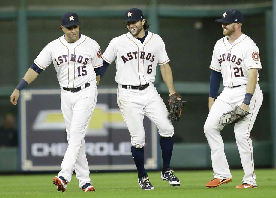 >>> Check out the notable Astros players in team history to leave the team via free agency. Photo: Melissa Phillip /Houston Chronicle / © 2017 Houston Chronicle