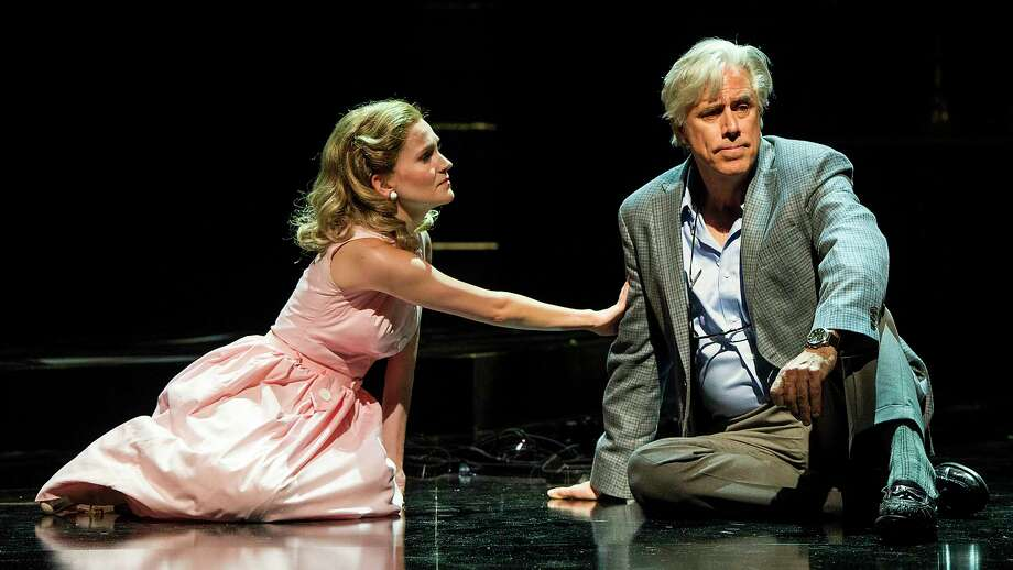 """Lora Lee Gayer and Jeff McCarthy in """"A Legendary Romance"""" at Williamstown Theatre Festival. Photo: Daniel Rader"""