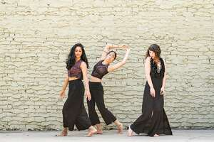 Nadhi Thekke, Anna Greenberg and Karla Quintero are among the dancers performing in Paufve Dance�s �XO: eXquisite Orientation,� premiering at Joe Goode Annex Sept. 15-17. Photo: Tony Nguyen.