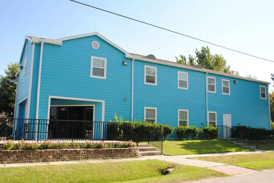 Newly painted and renovated by HomeAid Houston and Sandcastle Homes, A Caring Safe Place offers help getting men ages 18 and over back to a productive life within the community after dealing with HIV, drug abuse and abandonment and abuse.