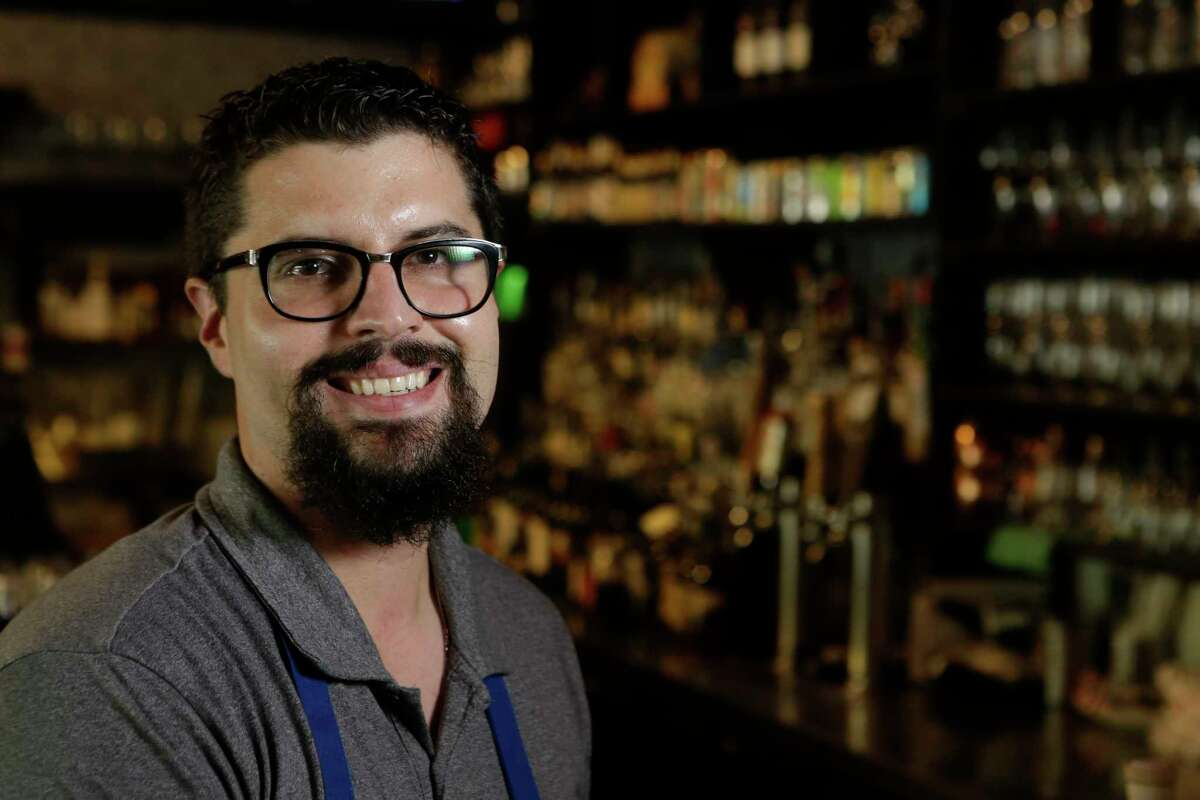 Chris Ray, managing partner and sommelier, at Lowbrow Food & Drink, 1601 W. Main.