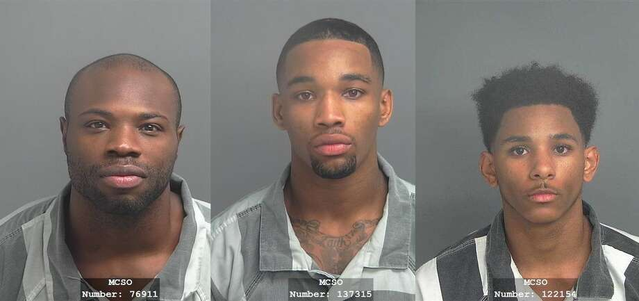 Roddrick Jordan, Roman Pray and Thomas Lizcano Photo: MCSO