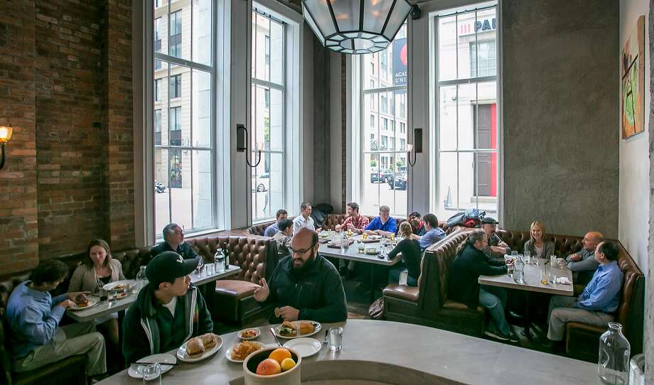 People have lunch at Trou Normand in San Francisco. Photo: John Storey, Special To The Chronicle