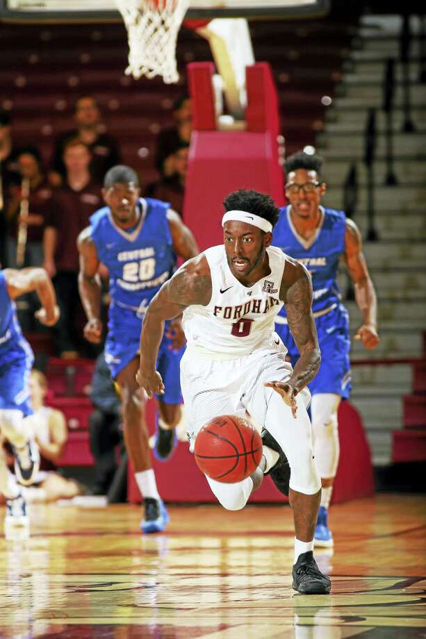 Fordham transfer Antwoine Anderson will add a veteran presence to UConn's backcourt this season. Photo: Submitted Photo