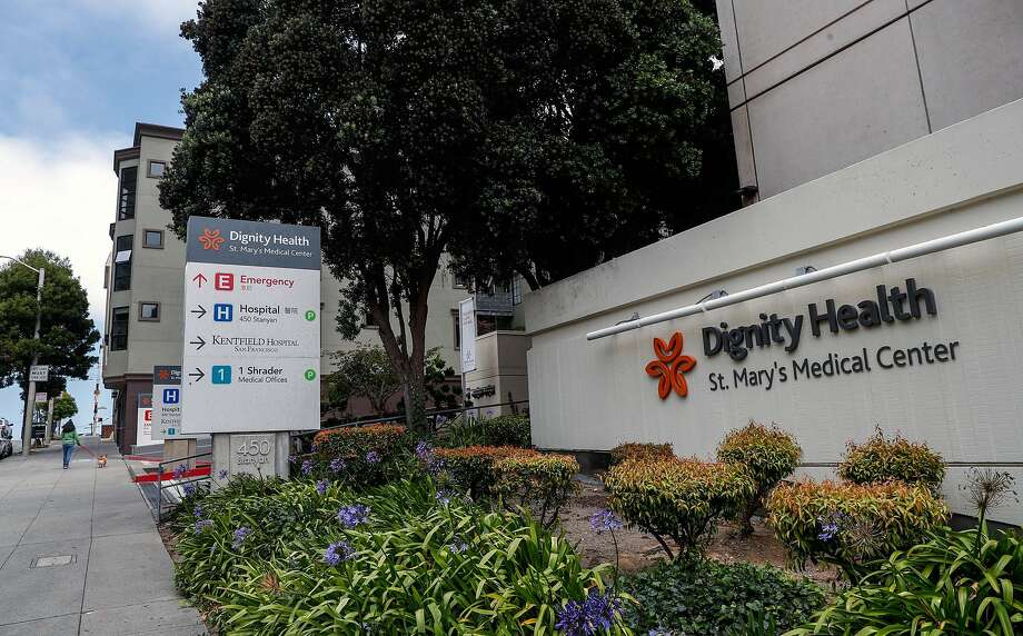 St. Mary's Medical Center in San Francisco has opened new beds for severely mentally ill patients — some of them may be homeless. Photo: Michael Macor / The Chronicle