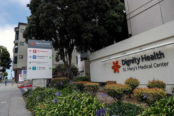 St. Mary's Medical Center in San Francisco, Ca., on Mon. August 7, 2017. UCSF will be taking its resources and bringing it over to Dignity.