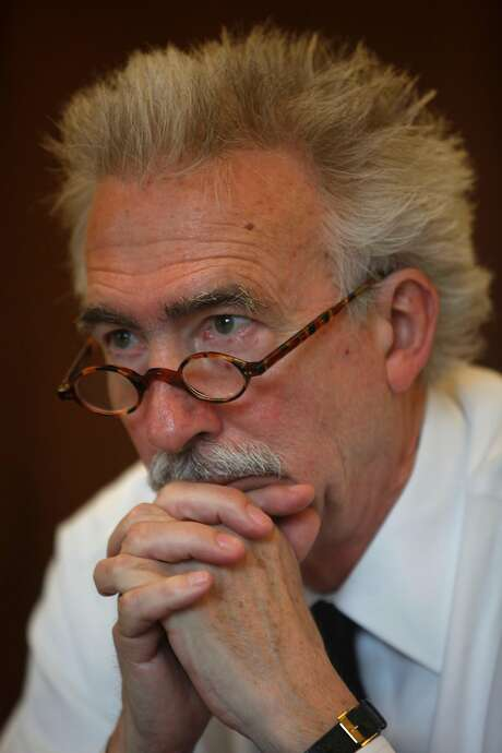 Former UC Berkeley Chancellor Nicholas Dirks in his office in 2013. Photo: Lea Suzuki, The Chronicle