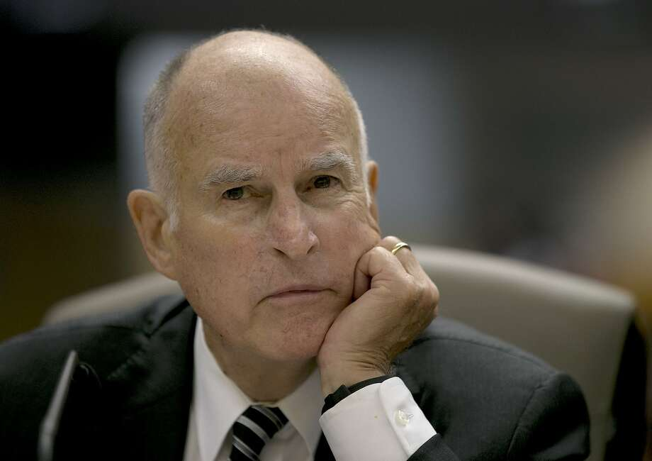 Gov. Jerry Brown Photo: Rich Pedroncelli, Associated Press
