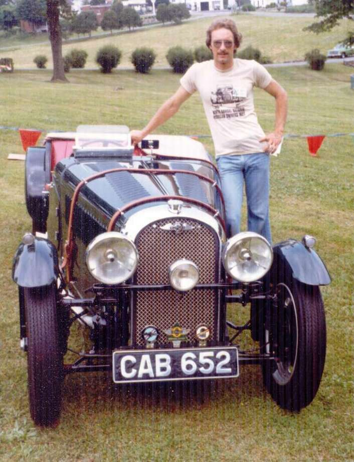 Robert Couch, shown here in the early 1980's with a Morgan sports car he had restored, died June 5, 2010, in Sequim, Wash. He grew up in New Preston, where he started an automotive career that brought him national acclaim. Photo: Contributed Photo / The News-Times Contributed