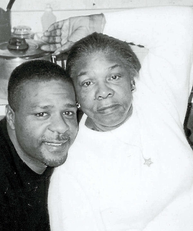 Allan Walker and mom Doris Walker