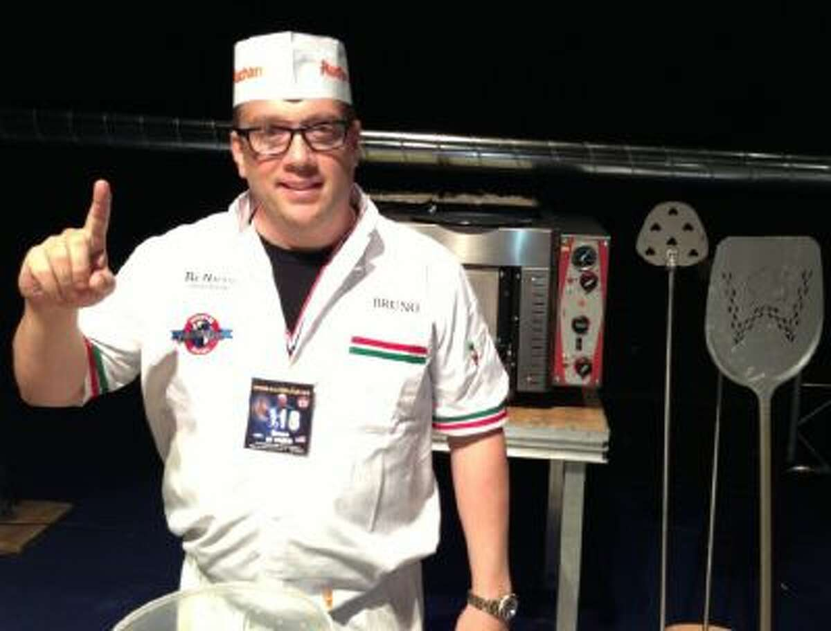Bruno DiFabio, world pizza champ