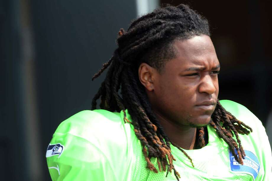 """SeattlePI: What's on your pre-practice playlist right now?Shaquill Griffin: I listen to a lot of R&B, like real old school – Keith Sweat, Marvin Gaye. I'm real old school with it, so my playlist is a lot of R&B. I like to keep it cool, calm and collected, then when I get on the field I like to let loose. But I like to stay calm (beforehand), and I do the same thing on game day."""" Photo: GENNA MARTIN, SEATTLEPI.COM / SEATTLEPI.COM"""
