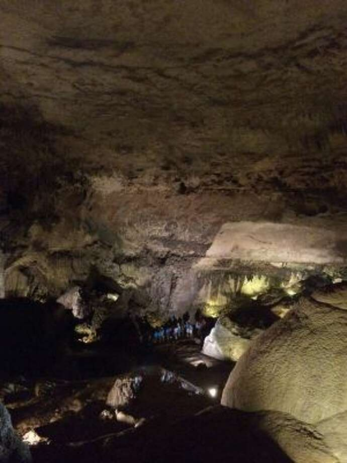 """Located in northern Puerto Rico, Camuy River Cave Park's """"show"""" cave, Cueva Clara, or Clear Cave, contains various cave formations, including stalactites and stalagmites. The cave is also home to bats, which can be seen swooping overhead."""