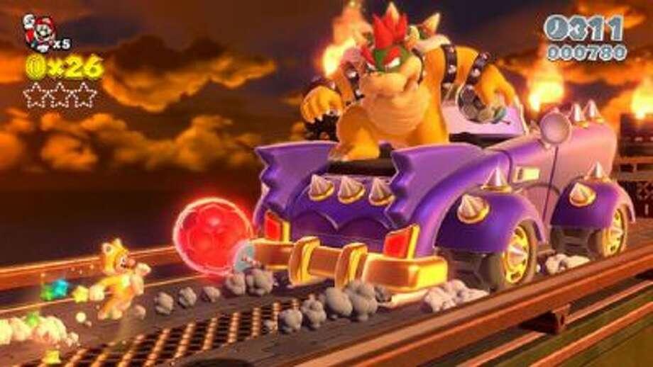 Super Mario 3D World (Wii U).