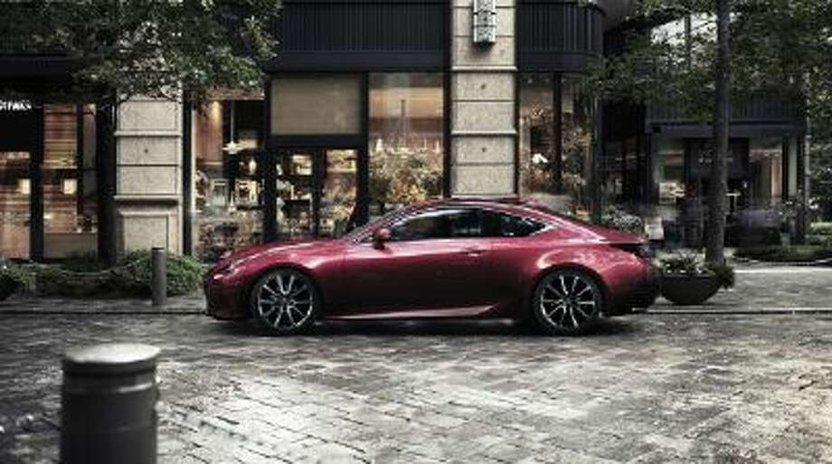 The Lexus RC coupe will hit the market in 2014.