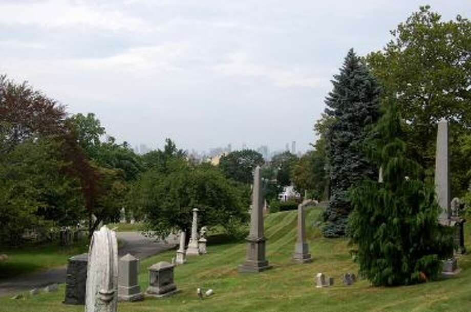 Henry Ward Beecher, who delivered dramatic abolitionist sermons, is buried here in Green-Wood Cemetery in New York. The extensive grounds offer distant views of the Manhattan skyline.