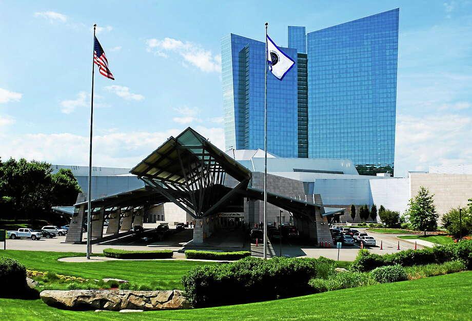 The Mohegan Sun casino in Uncasville, Conn. (AP Photo/Jessica Hill) Photo: AP / FR125654 AP