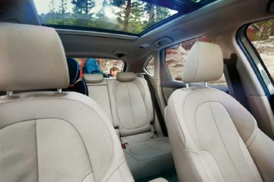 BMW 2-Series Active Tourer has a clever flexible seating system.