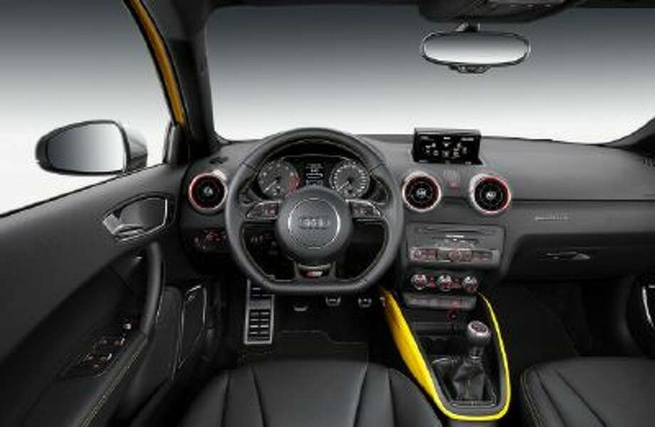 The Audi S1 has a host of options include a Bose sound system and a wi-fi hotspot for mobile internet access.