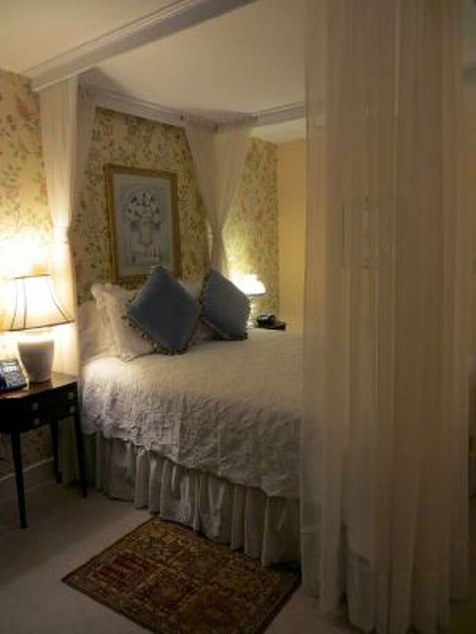 This is one of the rooms at The Fairville Inn, in Chadds Ford, Pa. The inn, shown on October 14, is near the Brandywine River Museum and Longwood Gardens.