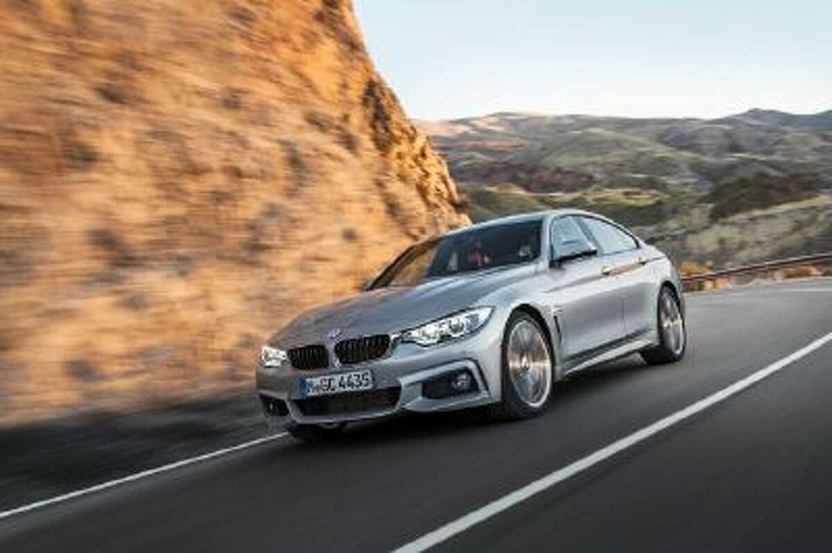 BMW 4 Series Gran Coupé. BMW is the latest premium German car maker to offer a mid-sized car that blends sedan practicalities with coupé good looks.