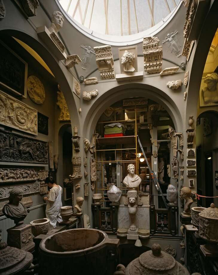 Sir John Soane's Museum, has works by Canaletto, Turner and Hogarth. Photo: View Pictures, UIG Via Getty Images