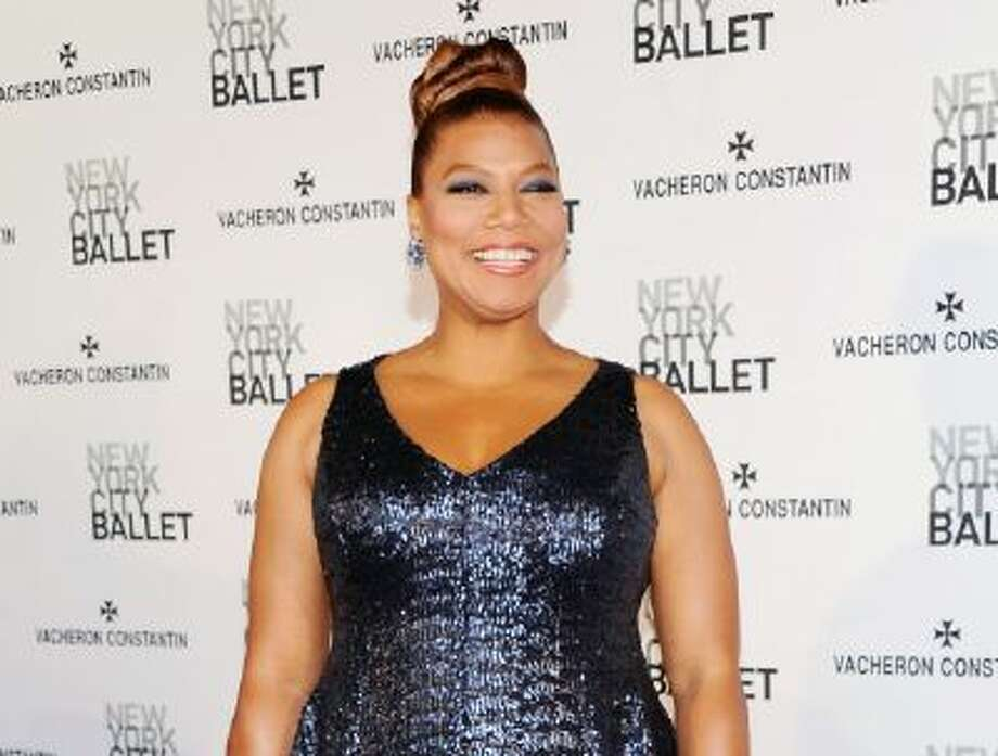 This May 8, 2013 photo shows singer and talk show host Queen Latifah at the New York City Ballet Spring Gala in New York.