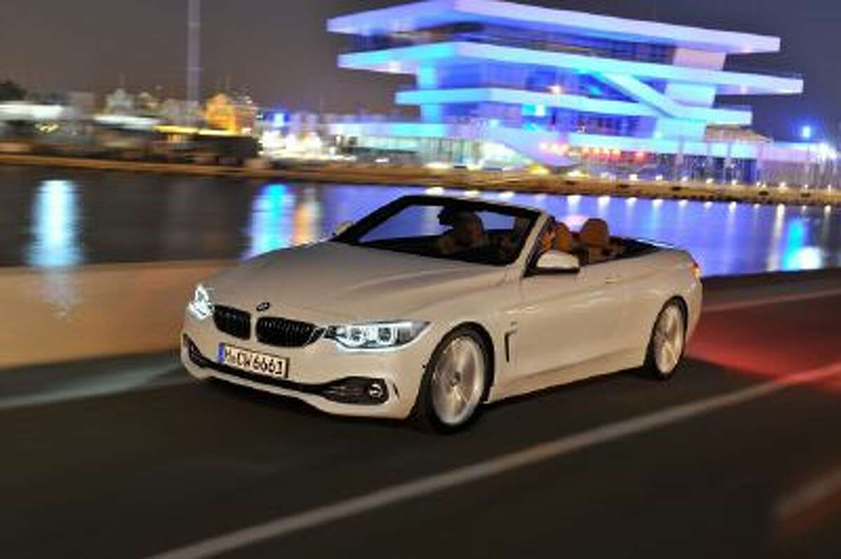 BMW 4 Series Convertible.
