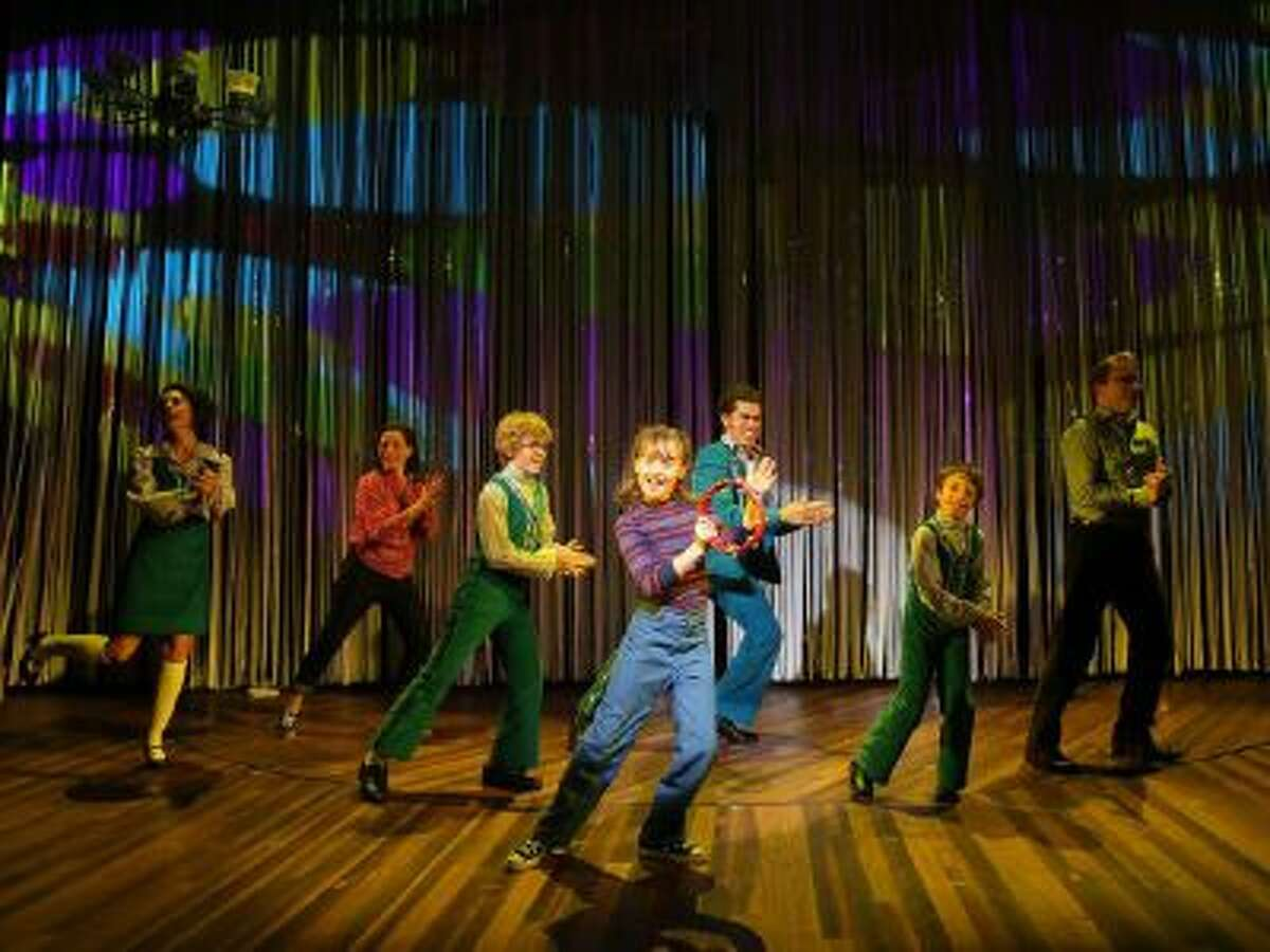 This image released by The Public Theater shows the cast of