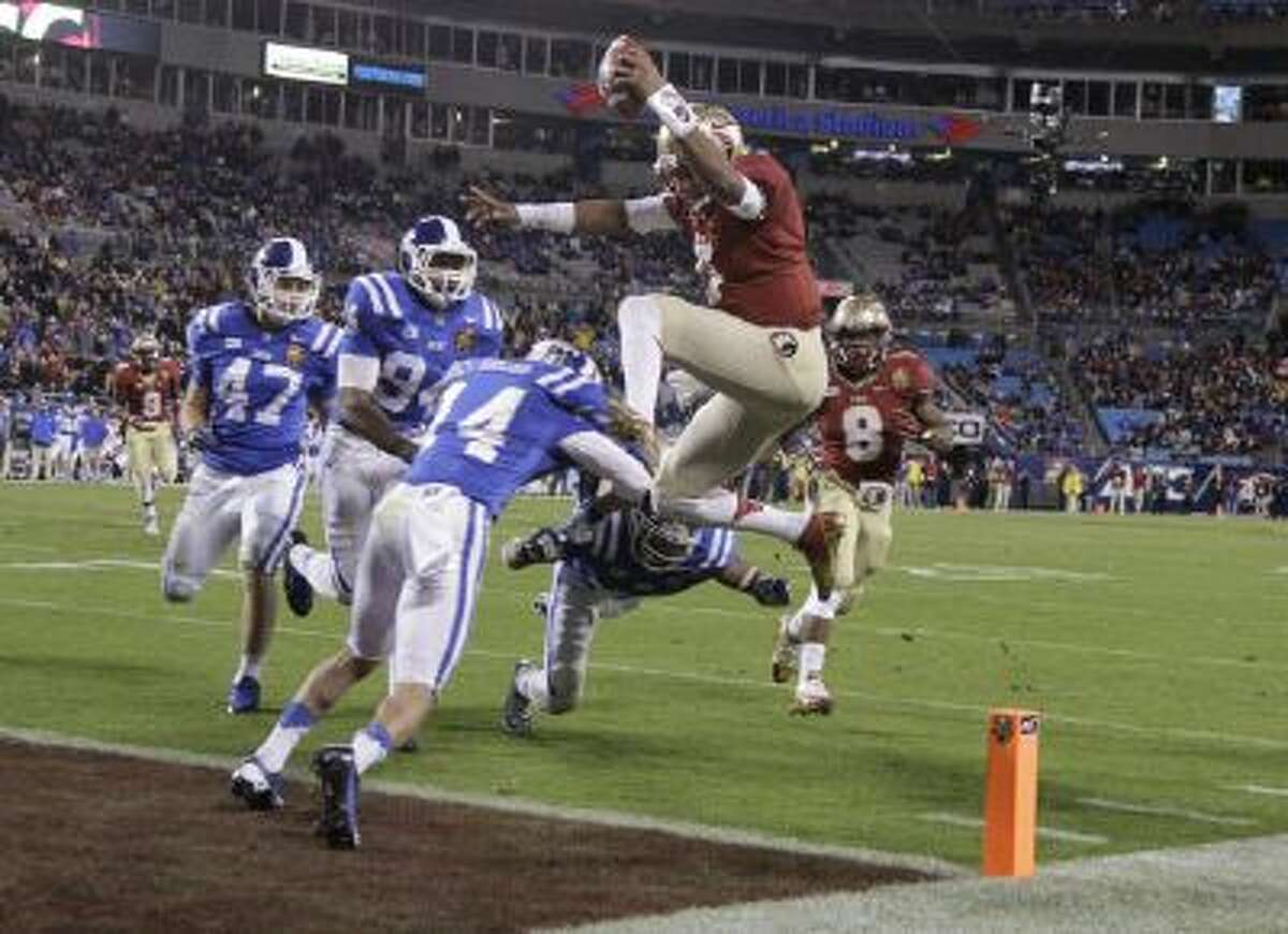 Jameis Winston, shown here in the ACC Championship game, will highlight the bowl calendar.