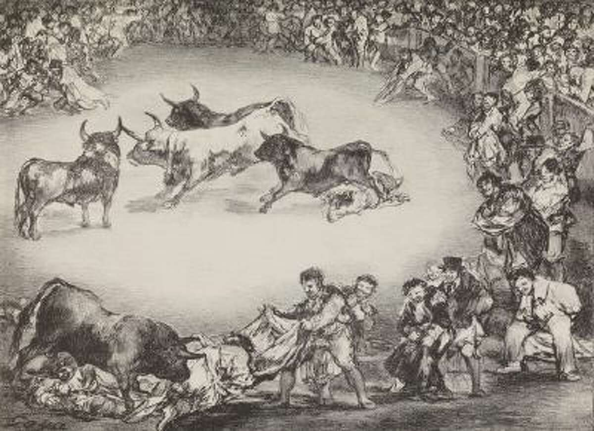 This image provided by the New Mexico Museum of Art shows Francisco de Goya's