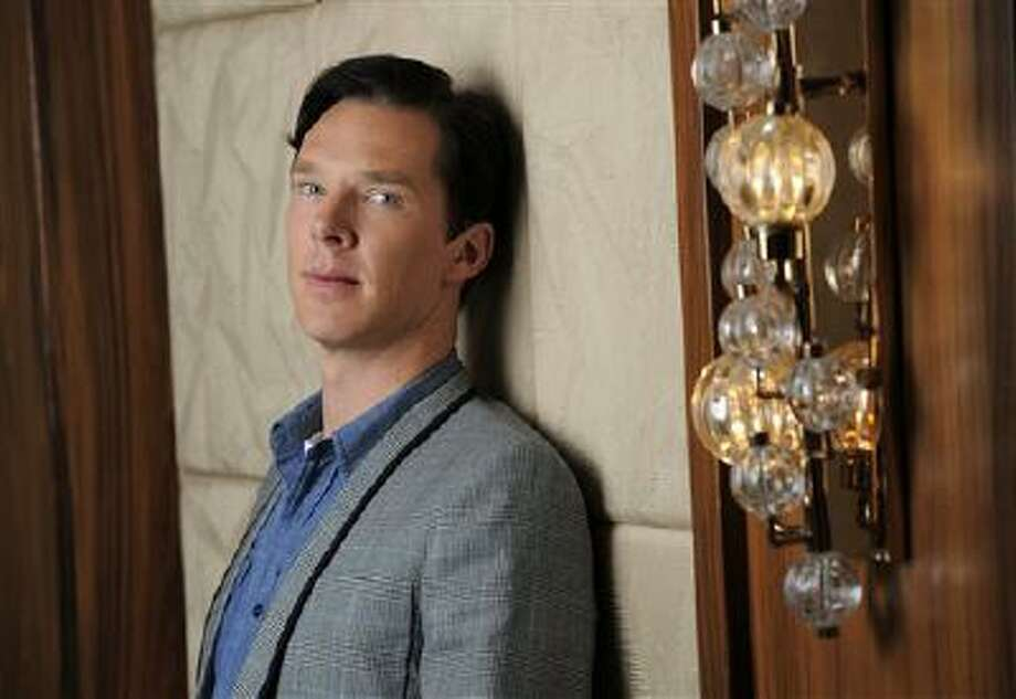 """This Sept. 8, 2013 photo shows actor Benedict Cumberbatch at the 2013 Toronto International Film Festival in Toronto. Cumberbatch stars as WikiLeaks founder Julian Assange in""""The Fifth Estate,"""" in theaters on Oct. 18. (Photo by Chris Pizzello/Invision/AP) Photo: Chris Pizzello/Invision/AP / Invision"""