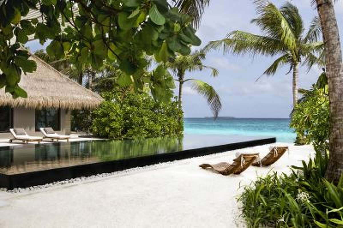 The new Cheval Blanc Randheli resort in the Maldives includes 45 suites.