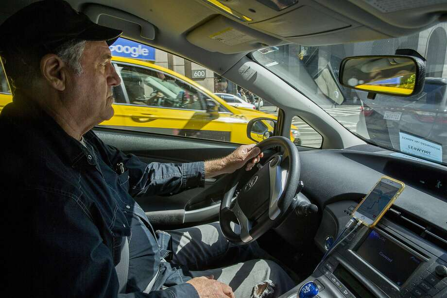 The scammers will call an unsuspecting taxi service, telling them to go pick up their mother or father because they need a ride, according to police. Photo: Santiago Mejia, The Chronicle