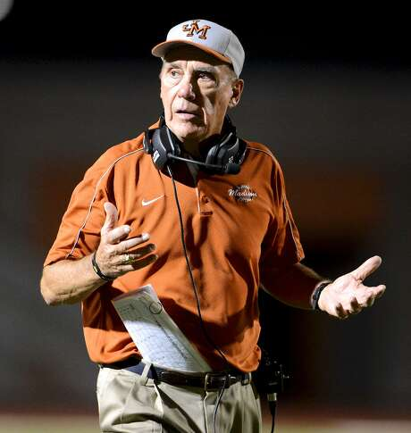 Madison head coach Jim Streety reacts to a play during a District 26-5A football game against the Reagan Rattlers at Heroes Stadium in San Antonio Oct. 13, 2012. Photo: John Albright /For The Express-News / San Antonio Express-News