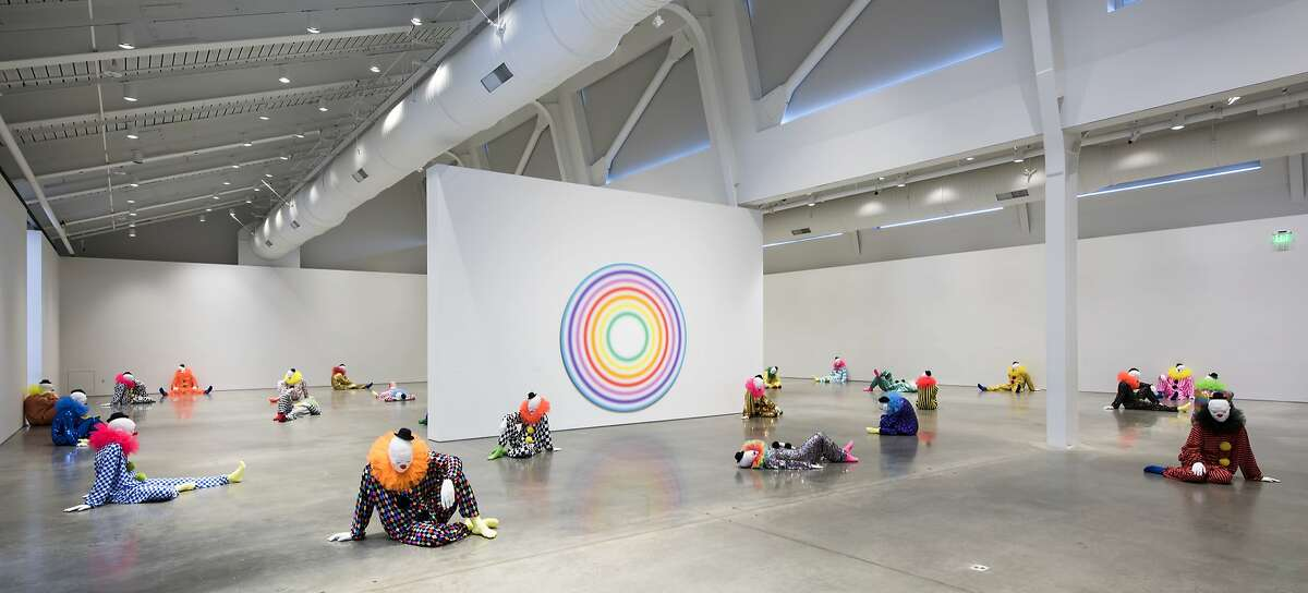 """The exhibition """"Ugo Rondinone: The World Just Makes Me Laugh"""" is on view at the Berkeley Art Museum and Pacific Film Archive through Aug. 27."""