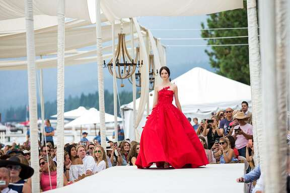The League to Save Lake Tahoe's 48th fashion show with Saks Fifth Avenue and Oscar de la Renta on Aug. 5, 2017 raised a record $1.1 million to keep Tahoe blue. Looks from the resort 2018 collection were shown on the runway.
