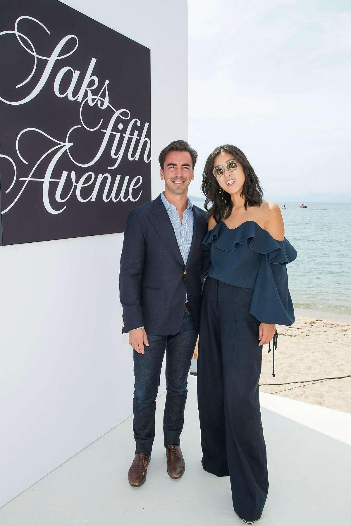 The League to Save Lake Tahoe fashion show with Saks Fifth Avenue and Oscar de la Renta raised $1.1 million Aug. 5, 2017 to keep Tahoe blue.