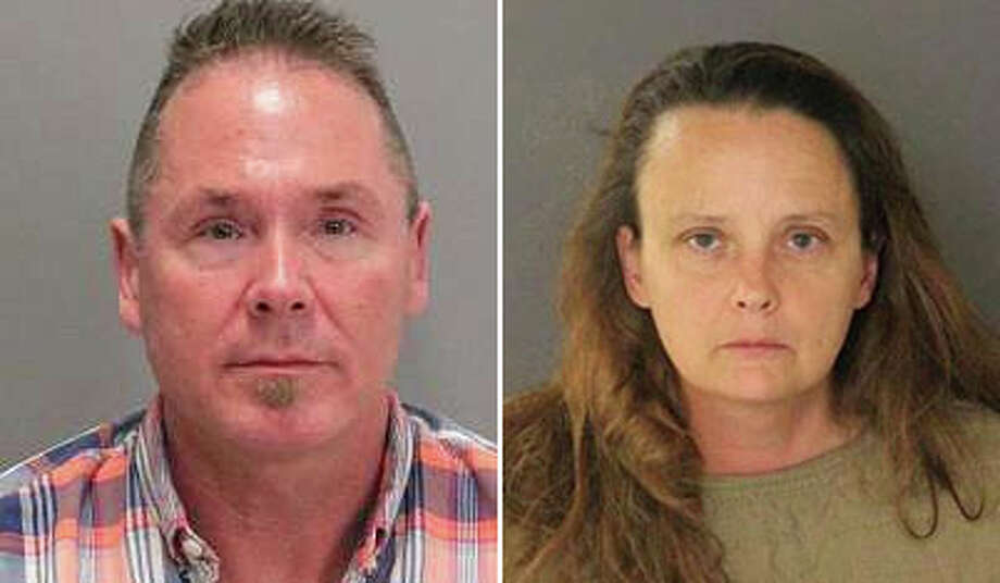 Michael Kellar, left, and Gail Lynn Burnworth, right, are alleged to have conspired to make child pornography. Investigators say Burnworth admitted to sexually assaulting a young girl.