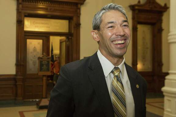 San Antonio Mayor Ron Nirenberg, seen at the Texas Capitol in Austin on Aug. 7, 2017, is expected to announce today that he is forming a new task force that will develop a comprehensive housing policy for the city.