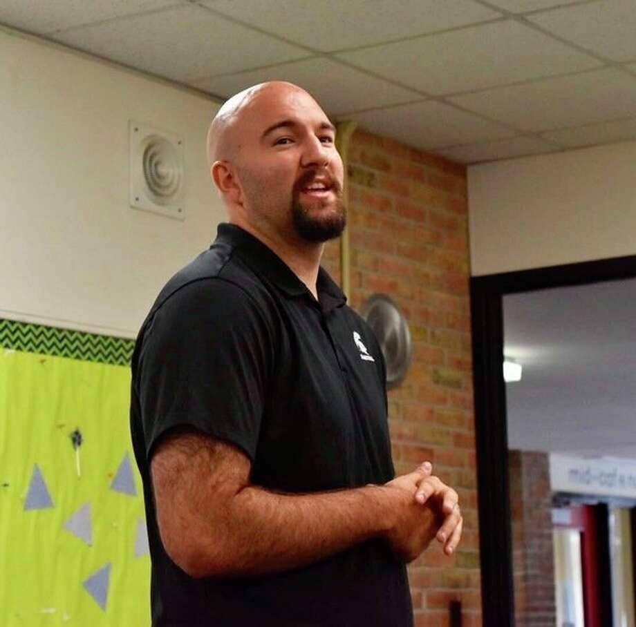 Anthony Ianni speaks during the LEAP summer program at Northwood University on Thursday. (Photo provided by Jacqueline Leapheart)