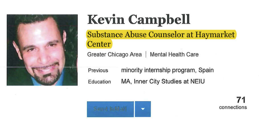 Silk Road drug dealer Kevin Campbell's LinkedIn profile page, as pictured in court filings. Photo: Justice Department Photo