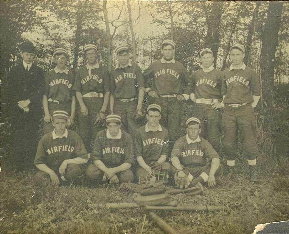 The Fairfield Stars baseball team, circa 1908. (Photo courtesy of Susan Catalano) Photo: Contributed Photo / Fairfield Citizen